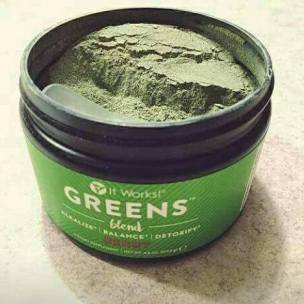 Greens container