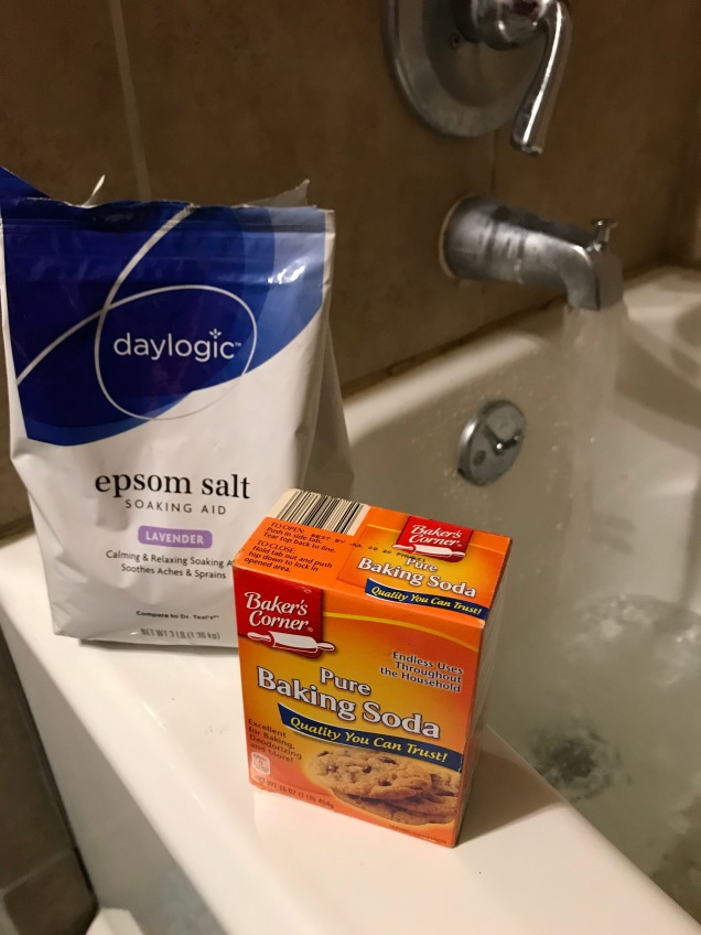 Lavender Epsom Salt and Baking Soda